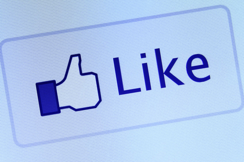 Facebook Page or Website - Facebook thumbs up