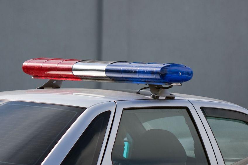 website usability - top of police car