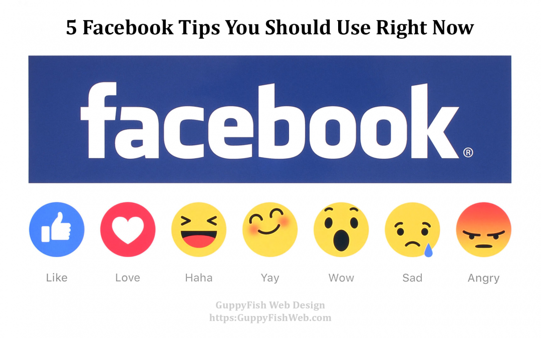 5 Facebook Tips You Should Use Right Now