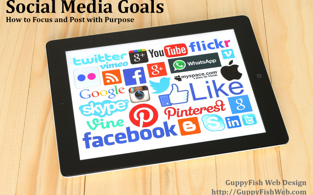 Social Media Goals: How to Focus and Post with Purpose