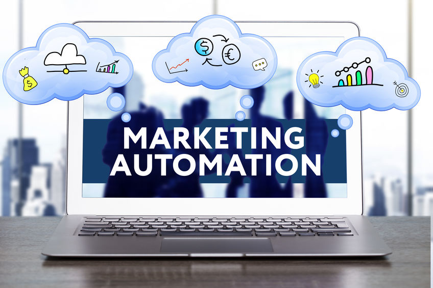 marketing automation on computer screen