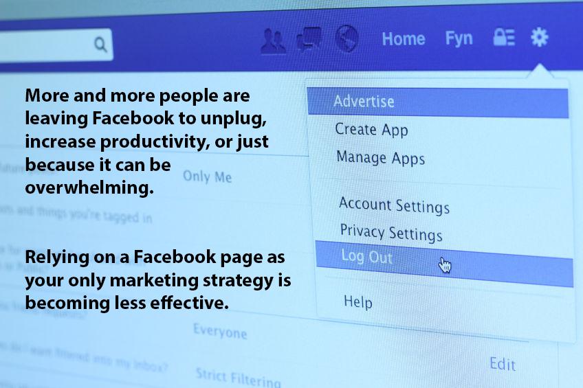 People leaving Facebook in droves.
