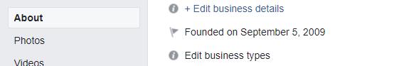 Filling in Facebook History