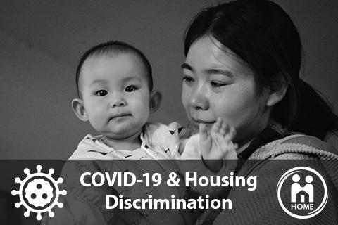 Example of non-profit digital marketing for HOME targeting Asian Americans during the Coronavirus pandemic.