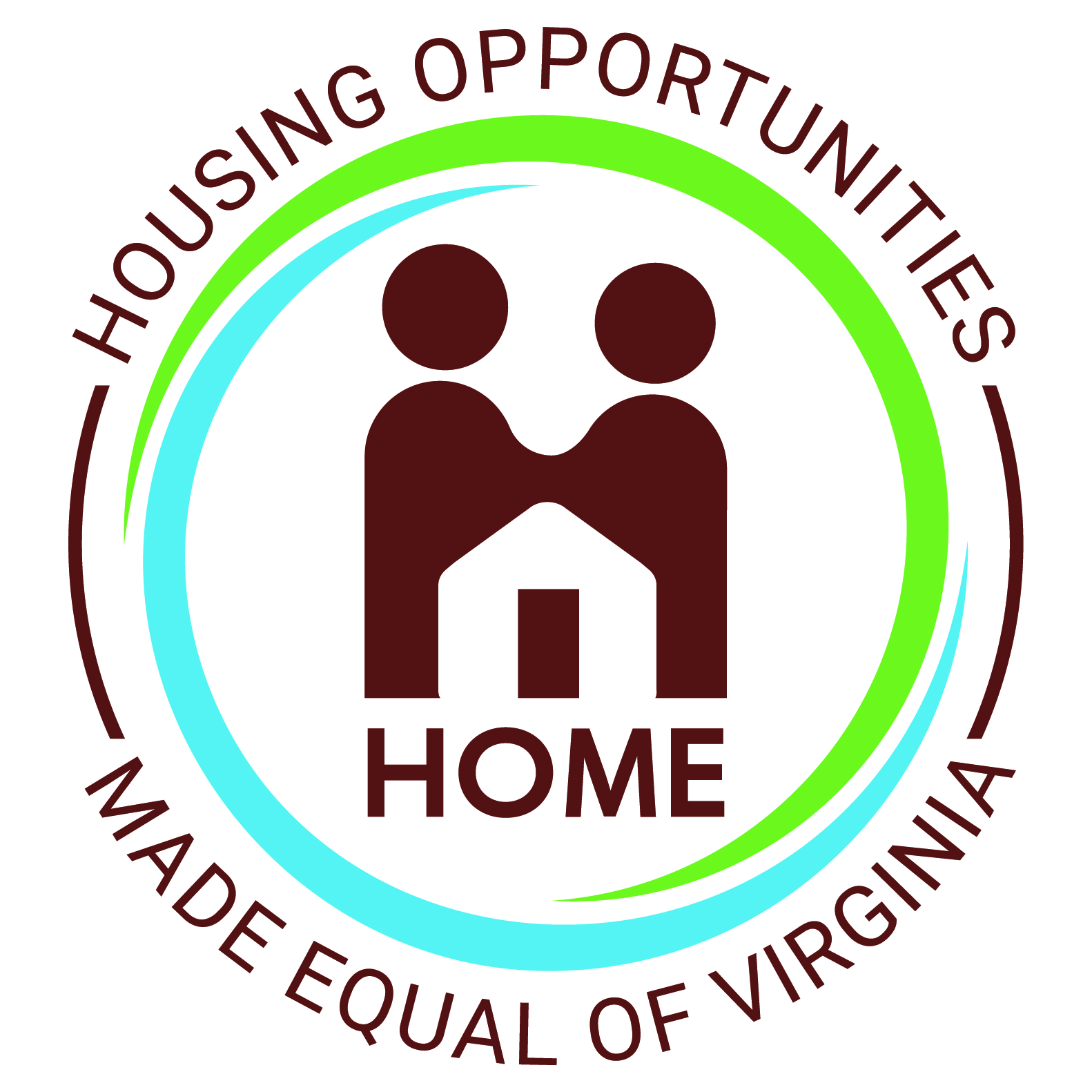 Logo for Housing Opportunities Made Equal of VA - non-profit digital marketing