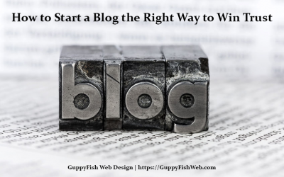 How to Start a Blog the Right Way to Win Trust